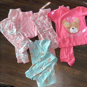 Short sleeved pajama bundle
